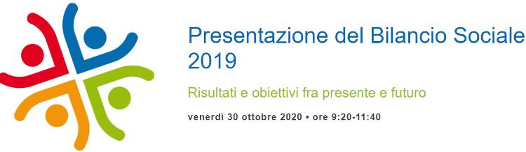 Sani.in.Veneto: Presentazione del Bilancio Sociale 2019 – 30 ottobre 2020